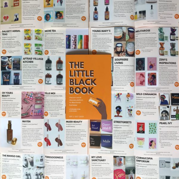 little black book jamii card black owned business directory