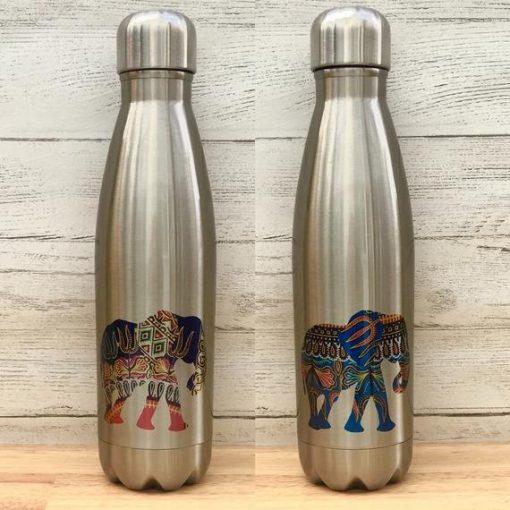 colourshot aluminium water bottle elephant black owned sustainable jamii discount card discovery marketplace
