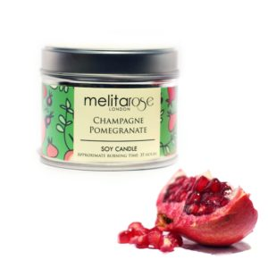 jamii black owned business marketplace discount card black owned gift ideas mother's day melitarose champagne pomegranate candle tin