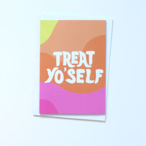 tihara smith treat yourself card colourful black owned jamii discount card discovery marketplace lockdown motivation uplifting