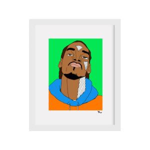 pearl ivy snoop dogg print handmade hip hop artwork black owned jamii discount card discovery marketplace lockdown motivation
