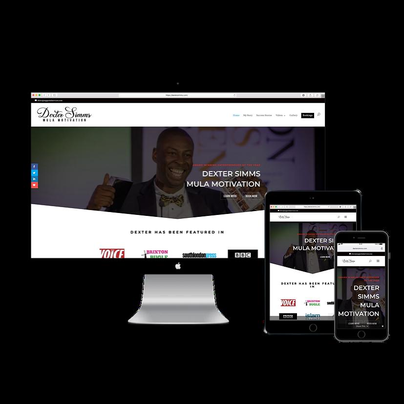 Dexter Simms Website