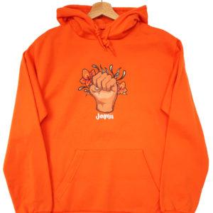 black owned jamii card directory black british marketplace hoodie clothing fashion power fist
