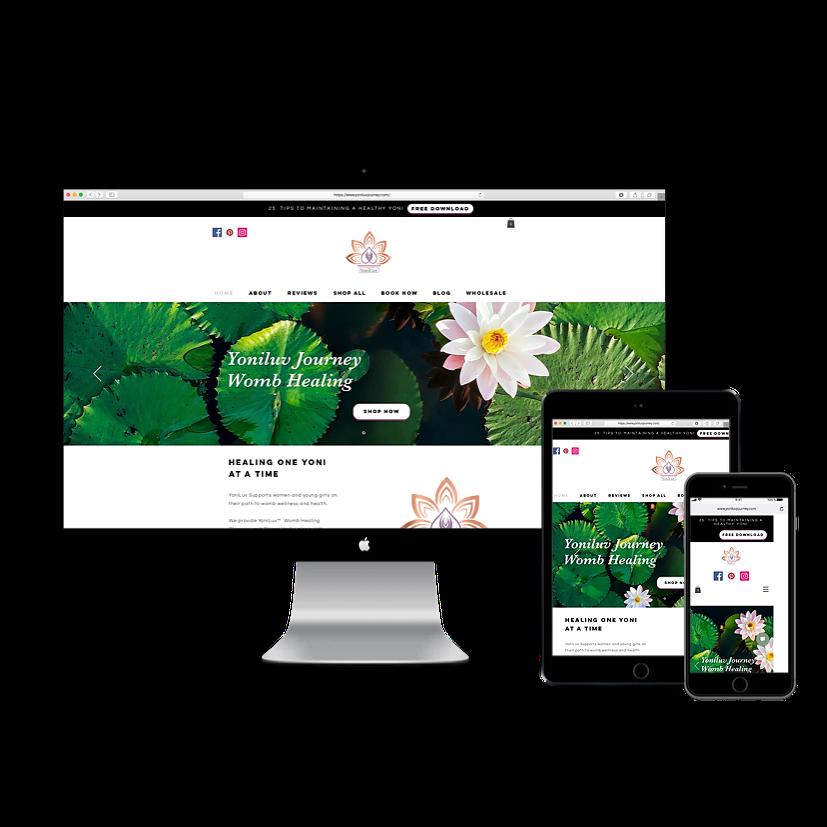 YoniLuv Journey Website
