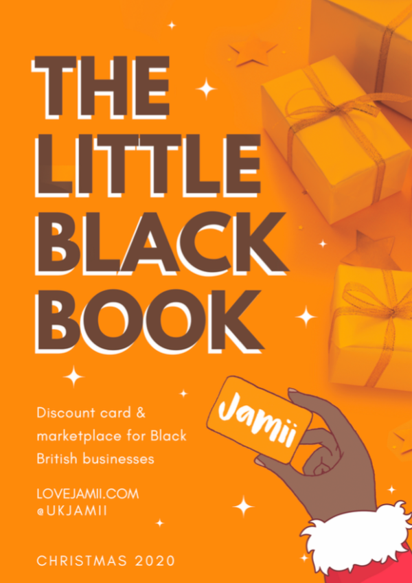 black owned jamii card directory black british marketplace little black book christmas