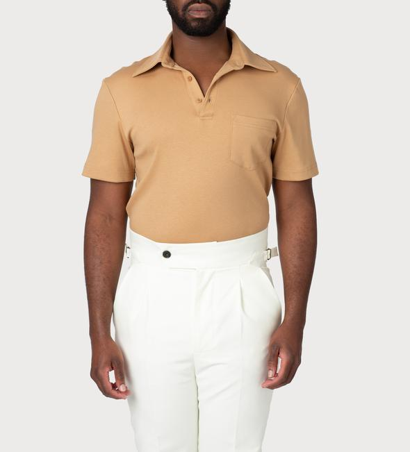 velviere sand polo shirt black owned jamii discount card discovery marketplace daily essentials menswear