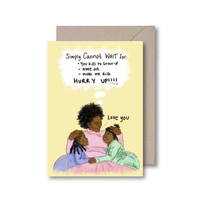 jamii discount card marketplace black owned businesses creators makers mothers day card kitsch noir mum
